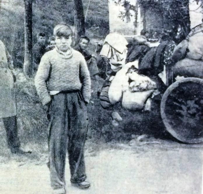 Guernica refugees. Photo-Norman Ramsey