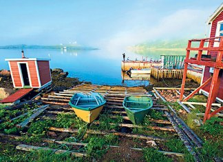 Red Bay's waterfront today Photo: ALAMY