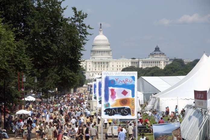 Smithsonian Folklife Festival en el National Mall de Washington