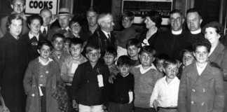 Niños Vascos de la Guerra acogidos en Newcastle