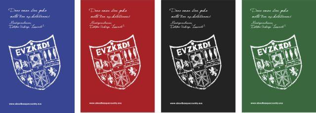 Los cuatro colores de las portadas de la libreta