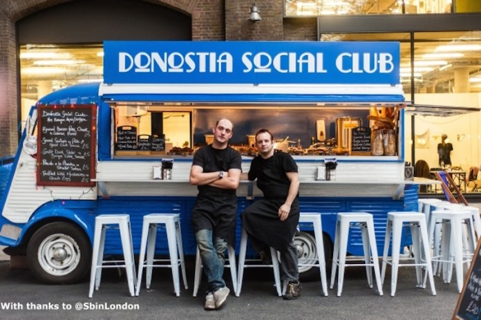 Donostia Social Club. Un restaurante vasco sobre ruedas en Londres