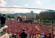 """Artículo sobre la victoria del Athletic en la """"Supercopa"""" en la Nuova Serdagna"""