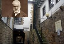 Casa de Pasaia donde vivió Victor Hugo