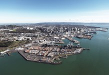 Waitemata Harbour in Auckland