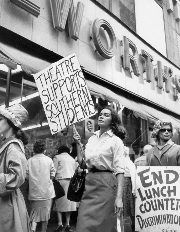 Yolanda Betbeze 1960an arraza berezikeriaren kontra borrokatzen New Yorken