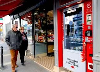 La máquina de venta 24 horas de L'ami Txulette