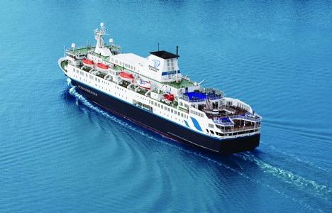 Ocean Endeavour, el buque donde se realizará este extraordinario viaje