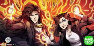 Una imagen de Firebrand la serie en comic que habla de las aventuras en Seattle de una sorgina educada en el País Vasco