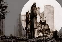 In Trümmern: Guernica, nach dem Bombardement 1937. Foto: Universal History Archive/UIG via Getty Images