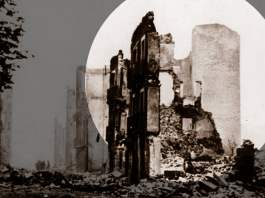In Trümmern: Guernica, nach dem Bombardement 1937. Foto: Universal History Archive/UIG via Getty Images
