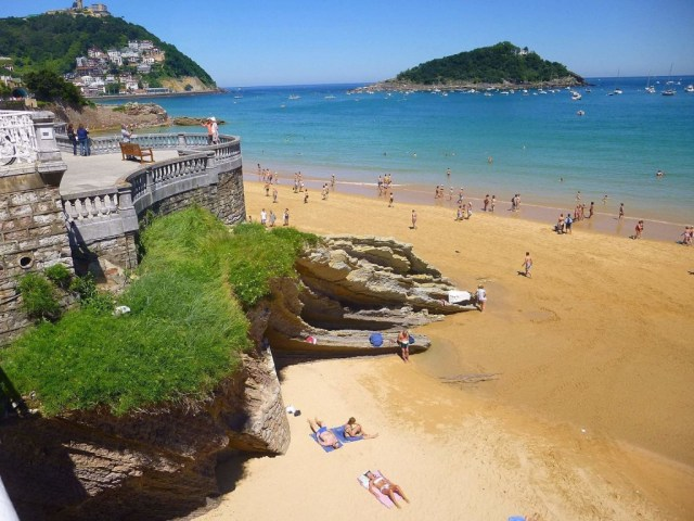Playa de la Concha, San Sebastián, Spain | © Zarateman / Wikimedia Commons