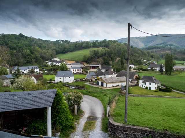 Vista de Zalgize-Doneztebe (Sauguis-Saint-Étienne)
