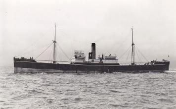 El Backworth. El buque que eligió the Spanish Relief Fund (creada en Gran Bretaña para proporcionar ayuda humanitaria) para enviar alimentos y suministros médicos a Bilbao.