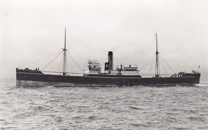 The Blackworth, the ship that the Spanish Relief Fund (created in Great Britain to provide humanitarian help) chose to send food and medical supplies to Bilbao