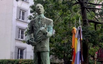 Escultura del president Companys en Buenos Aires