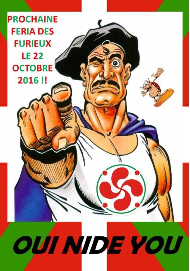"""Kaledonia Berriko euskaldunek antolatzen duten """"Feria des furieux"""""""