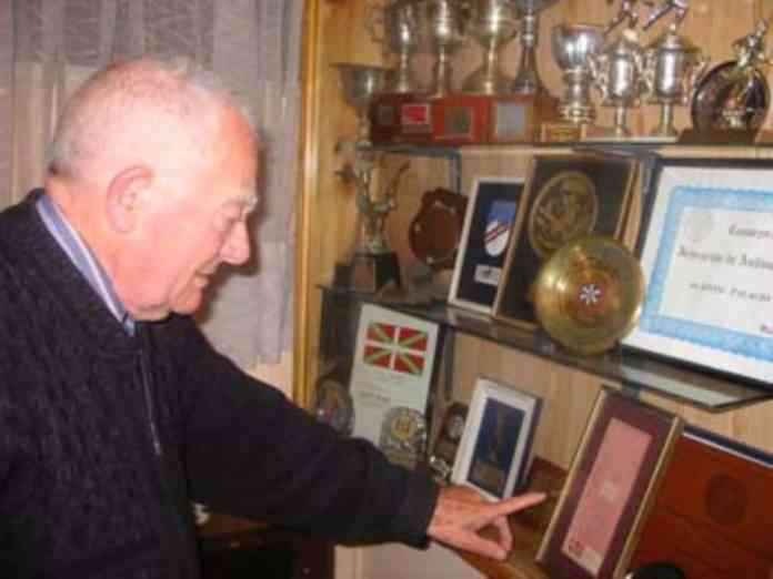 Agapito Palacios, born in the Alavan Rioja, named an Andean peak Euzkadi to pay homage to Lehendakari Aguirre