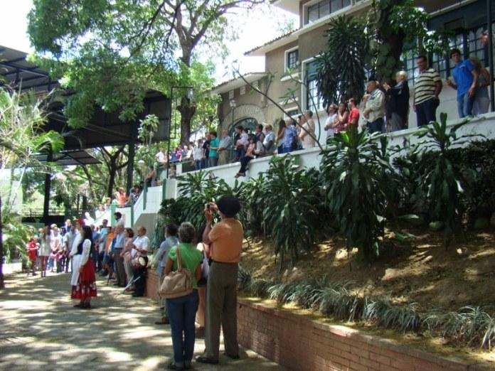La Eusko Etxea de Caracas celebrando el Aberri Eguna