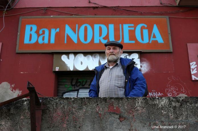 Halvard Nilsen, Bilboko Norvegian bizi den norbegiarra