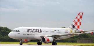 Avión de la Compañía Volotea