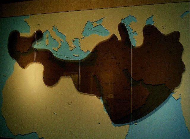 Map of Ancient Arabia, National Museum Riyadh.