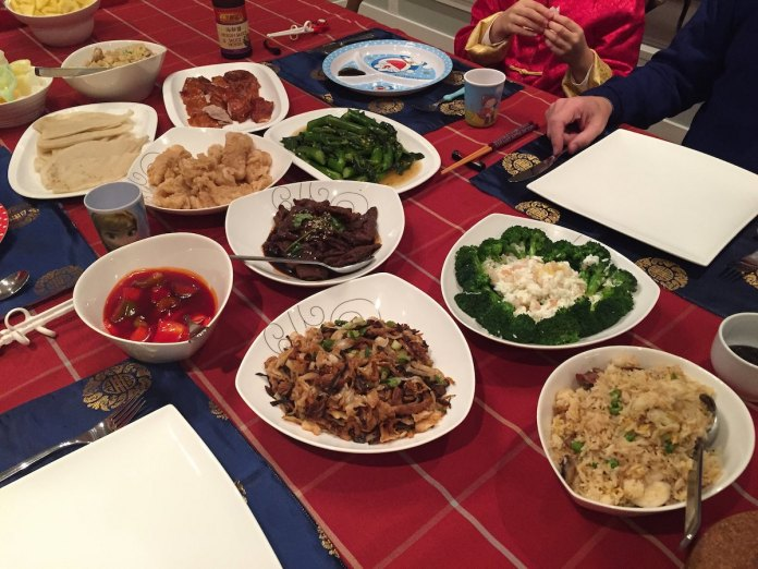 Chinese New Year's Eve dinner  (Photo: Marc van der Chijs)