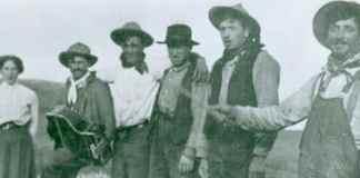 Emigrantes vascos en Wyoming. fotografía del libro Buffalotarrak de David Romtvedt