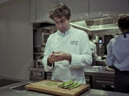 Chef Josean Alija of Guggenheim Museum Bilbao's Nerua is a rising star in Bilbao's up-and-coming culinary scene.