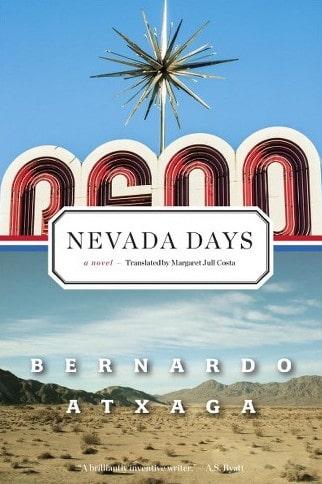 """Portada de """"Nevada Days"""" de B. Atxaga"""
