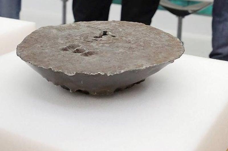 Lingote plata mexicana en Getaria