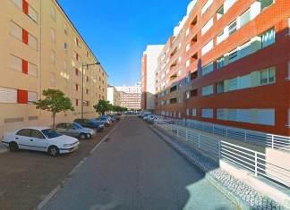 Calle Shegundo Galarza en Lisboa