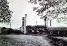 El central San Agustín en 1913. Propiedad de Nicolás Castaño Capetillo