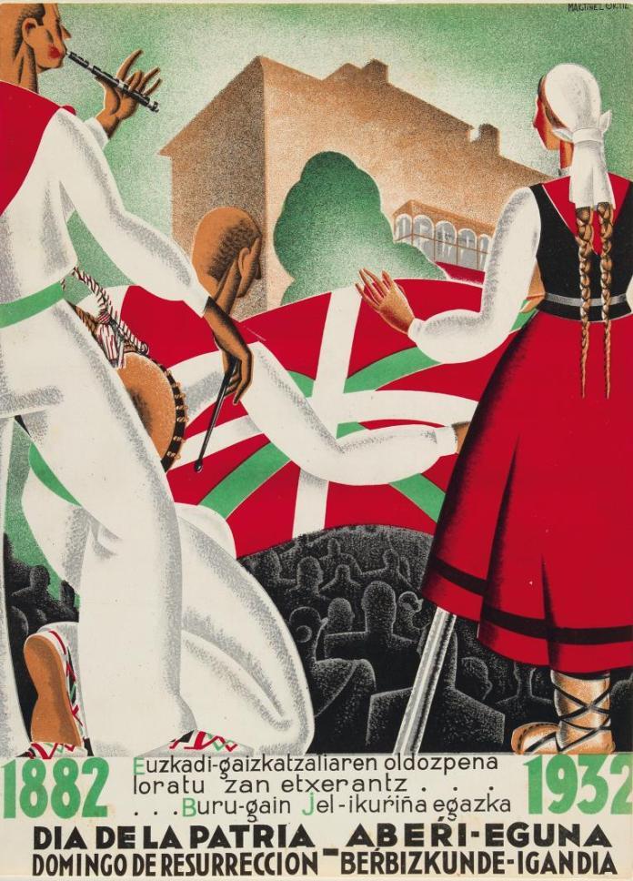 Cartel Aberri Eguna 1932 (Martínez Ortiz)