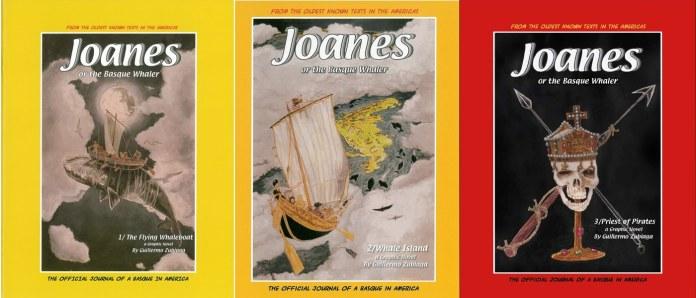 «Joanes the basque whaler» primera trilogía. Guillermo Zubiaga