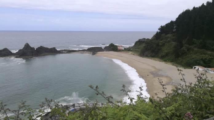 Playa de Saturrarán. Puntos de Vista. John R. Bopp por Bizkaia en moto