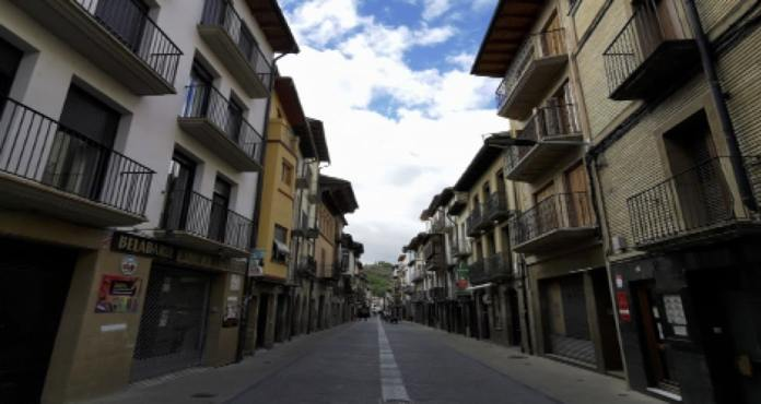 Calle Mayor (Zangoza-Sangüesa)