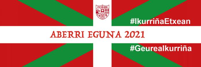 ikurriña Aberri Eguna 2021 twitter