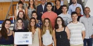 En Francia ocho estudiantes de la UPV/EHU, junto con tres de la UPNA, se encuentran en Burdeos participando en el proyecto. ( Foto. UPV/EHU)