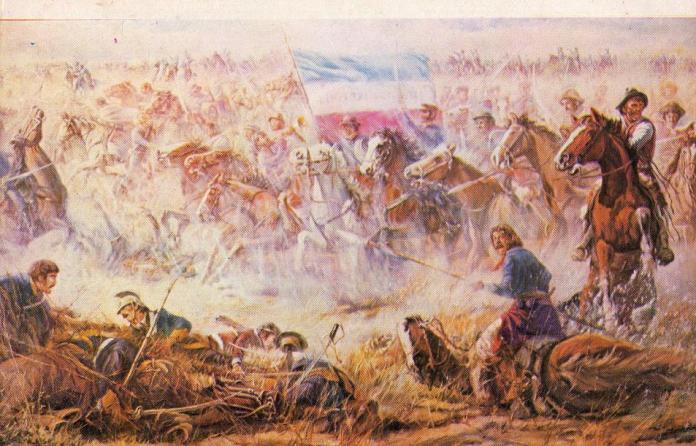 Batalla de Sarandi contra los brasileños
