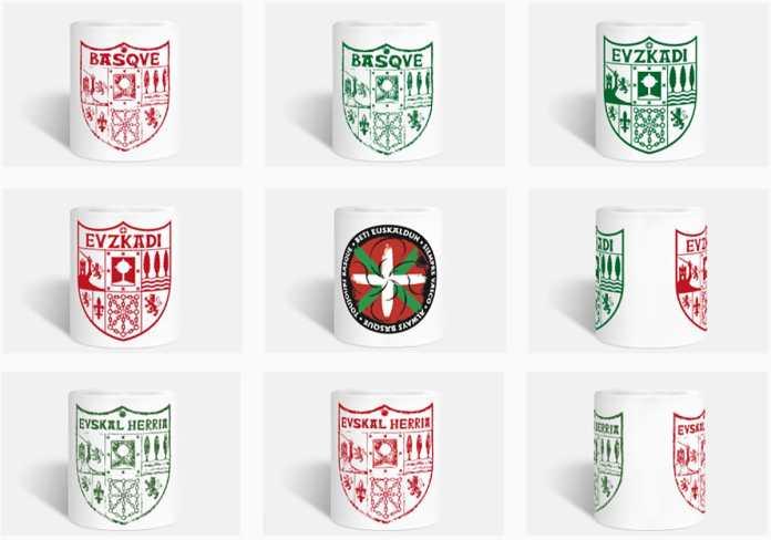 Tazas con diseños exclusivos About Basque Country