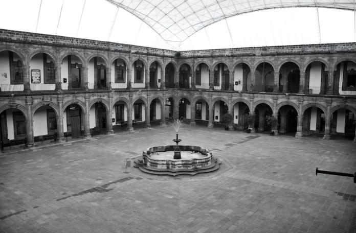 Patio del Colegio de San Ignacio de Loyola - Vizcaínas