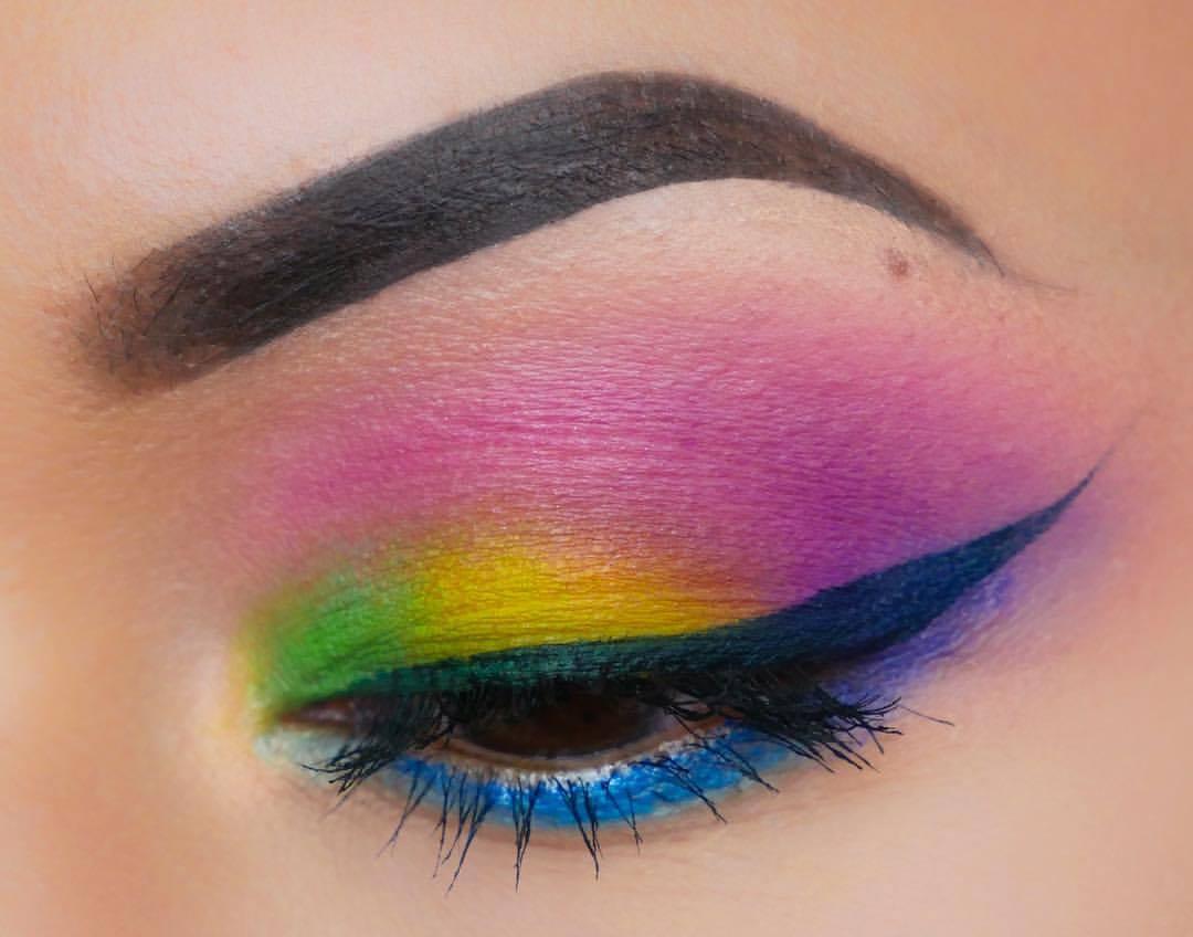 Regenboog Make-up