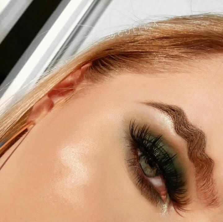 Wavy brows