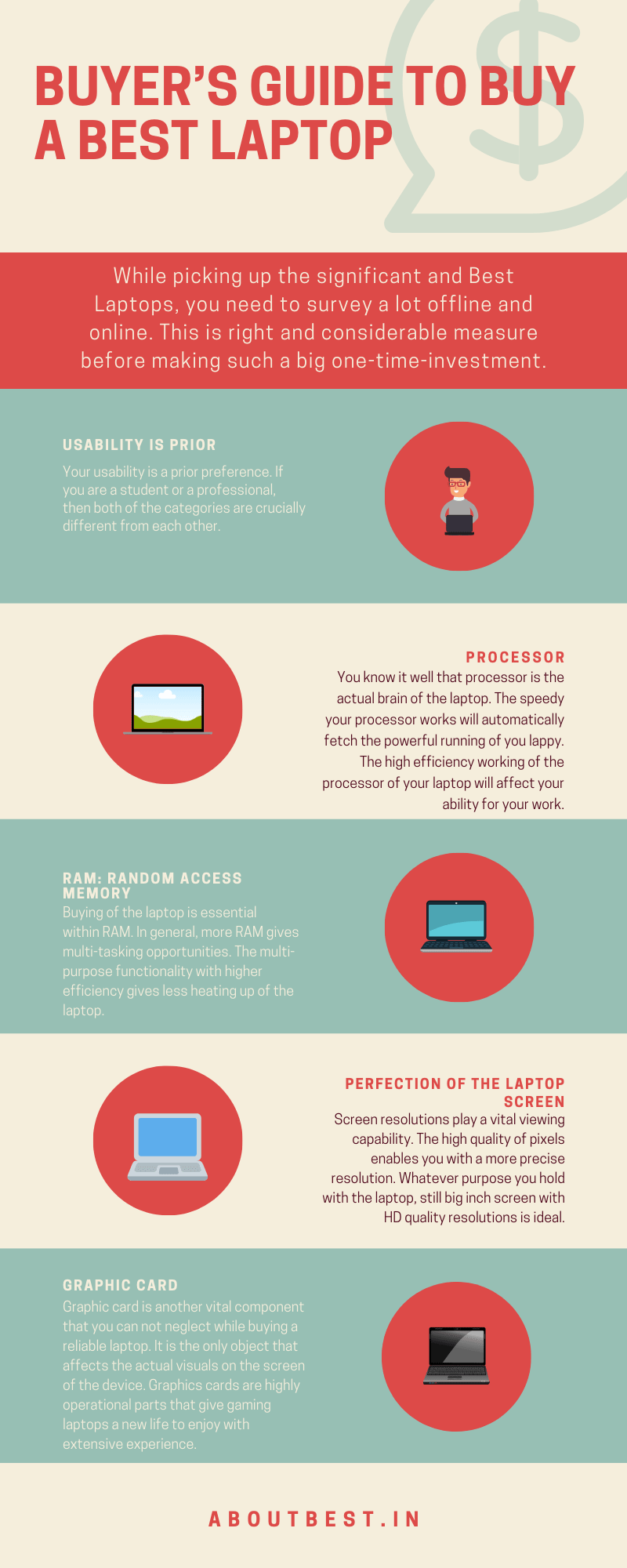 Buyer's Guide To Buy A Laptops