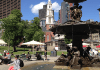 Boston common fountain sculpture