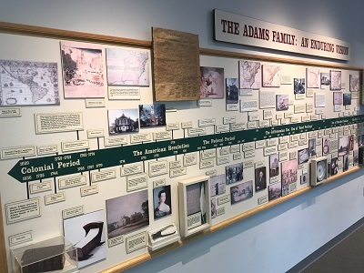 Quincy ma history timeline