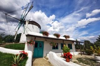 Die griechische Mühle im Mühlen-Freilichtmuseum Gifhorn