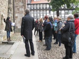 Bis zu 25 Personen können bei den interkulturellen Statdführungen dabei sein © Braunschweig Stadtmarketing GmbH
