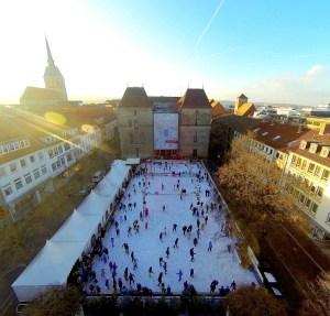 Eine eindrucksvolle Eisfläche © Hildesheim Marketing